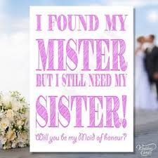 will you be my bridesmaid invite personalised will you be my of honour bridesmaid