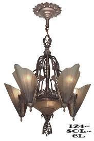 Art Nouveau Lighting Chandelier Art Deco Lighting Blog