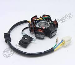 magneto stator 6 pole coil 5 wire 50cc 70cc 90cc 110cc 125cc lifan