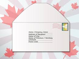 how to address an envelope to canada 6 steps with pictures