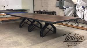 Vintage Conference Table Rouille Conference Table By Vintage Industrial