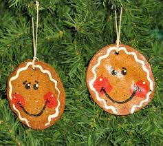 gingerbread salt dough ornament by tennesseecreations