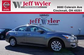 nissan altima zero percent financing certified pre owned 2015 nissan altima for sale cincinnati oh