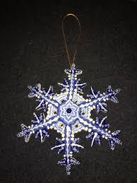 ornaments snowflakes irma