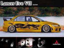 トラッカーの車庫 mitsubishi lancer evolution the phenomenal car