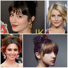 best bang hairstyles for updos u2013 haircuts and hairstyles for 2017