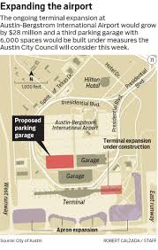 Austin Area Map by More Parking More Gates More Amenities As Austin Airport Grows