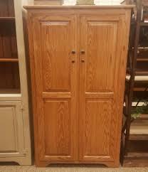 Pine Gun Cabinet Model Solid Cherry Wood Gun Cabinet Amish Corner Gun Safe Cabinet