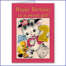 birthday card for 2 year old baby home design ideas