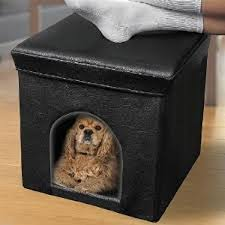 Cave Beds For Dogs Cozy Comfort For Dog Cat Feet House Bed Ottoman Cave Crate Table