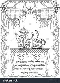 bible verses coloring book page stock vector 694682455 shutterstock