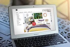dk modern furniture kelowna website design
