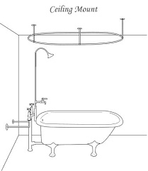 Install A Shower Faucet Best 25 Clawfoot Tub Shower Ideas On Pinterest Clawfoot Tub
