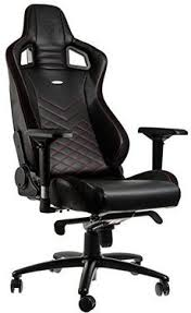 chaise de bureau fauteuil de bureau gaming faux cuir noir noblechairs