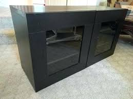 Black Corner Tv Cabinet With Doors Tv Stand Corner Tv Stand With Glass Doors Dark Brown Wooden