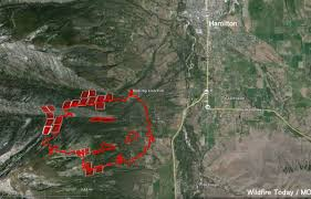 Hamilton Montana Map by Type 1 And 2 Teams Ordered To Respond To Western Montana Wildfires