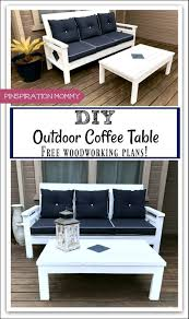 Free Woodworking Plans For Outdoor Table by Diy Outdoor Coffee Table Free Woodworking Plans Pinspiration Mommy