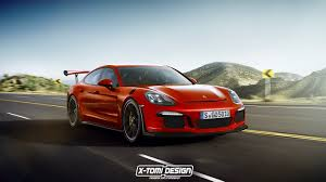 porsche panamera hybrid red 2017 porsche panamera gt3 rs rendered as the racing sedan we u0027ll