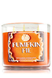 Home Interiors Baked Apple Pie Candle by Pumpkin Pie 3 Wick Candle Home Fragrance 1037181 Bath U0026 Body