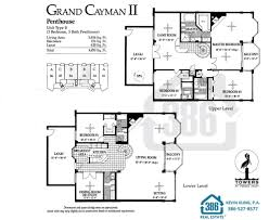 penthouse floor plans towers three floor plans ponce inlet condos