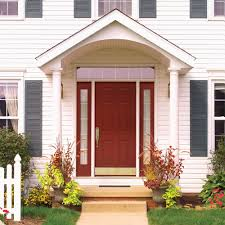 Exterior Awnings The Different Styles Of Front Door Awnings Classy Door Design