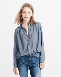 popover blouse womens shirts blouses sale abercrombie fitch