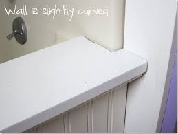 bathroom makeover how to add decorative molding to a bathtub