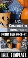 pottery barn halloween decor 348 best halloween tombstones images on pinterest halloween