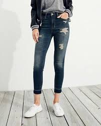 Skinny Jeans With Holes Jeans Hollister Co