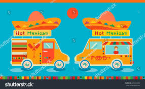 mexican food icon food car stock vector 348334232 shutterstock