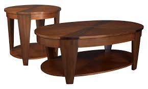 Traditional Coffee Table Hammary Oasis 2 Piece Oval Coffee Table Set Hayneedle
