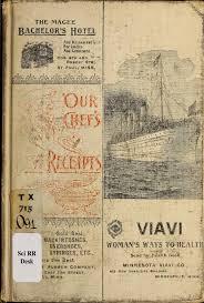 vieux livre de cuisine our chef s best receipts a practical cook book cookbooks