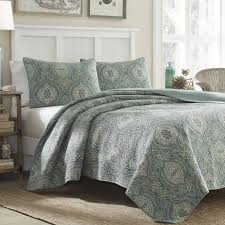 Ballard Designs Bedding Tommy Bahama Turtle Cove Cotton 3 Piece Quilt Set By Tommy Bahama