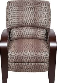 Chair Fabric Aaron Fabric Accent Reclining Chair The Brick
