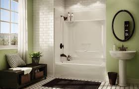 three piece bathtub built in bathtub shower combination rectangular acrylic kdts
