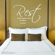rest is the sweet sauce of labor wall art decals rest is the sweet sauce of labor wall art decal