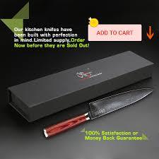 haoye 2 piece damascus kitchen knives set japanese vg10 steel