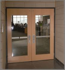 wooden and glass doors commercial wood doors personnel doors doors
