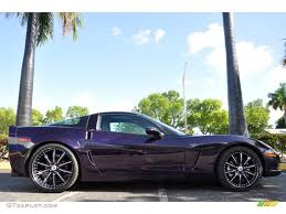Deep Purple Color 2006 Custom Deep Purple Chevrolet Corvette Coupe 31900866 Photo