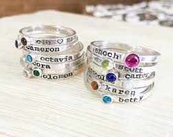 birthstone stackable rings for turquoise wedding ring set turquoise ring stacking rings