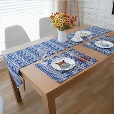 Dining Room Linens Dinning Long Table Runners Teal Table Runner Linen Placemats