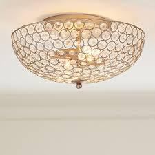 Pottery Barn Ceiling Light Shimmer Flushmount Pbteen