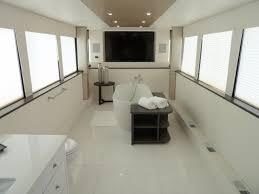 flat screen tv in the bathroom of simon cowell s trailer check flat screen tv in the bathroom of simon cowell s trailer check out more on gac s