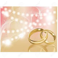 wedding backdrop vector two wedding ring with abstract background royalty free cliparts