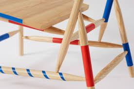 furniture name rio kobayashi bases colourful furniture on traditional game mikado