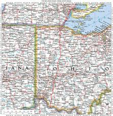Coldwater Michigan Map by Map Of Southern Michigan And Northern Indiana Michigan Map