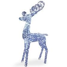 Outdoor Christmas Deer With Lights Outdoor Decor Lawn Figures Sears