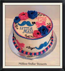 sweet and silly gender reveal cake ideas babyprepping com