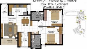 Gateway Floor Plan by Prestige Hillside Gateway By Prestige Group In Kakkanad Kochi
