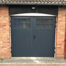small home side hinged garage doors with windows d90 in fabulous small home